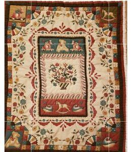 Vintage Hand Made Baby Blanket